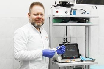 Лазерное лечение геморроя, врач проктолог Ковалев А.Н.»